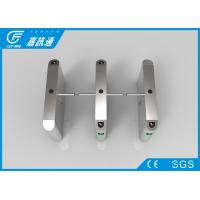 China Access Control System One Way Gate , Rfid Card Single Waist Height Turnstil wholesale