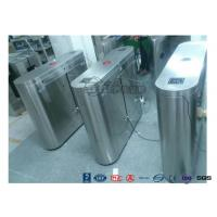 Quality Indoor / Outdoor Flap Barrier Turnstile Waist Height Turnstile Sliding High for sale