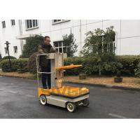 China 5.1m Working Height Self Propelled Electric Ne Man Scissor Lift For Cargo Handling wholesale