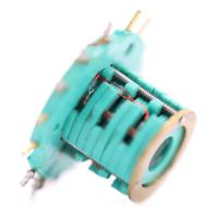 China 2A Per Wire Separate Slip Ring Transmitting 100 RPM Rotating Speed 15 Circuits wholesale