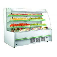 China Three Shelves Cooler Multideck Open Display Refrigerator R404 / R22 Refrigerant wholesale