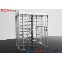 China RFID Access Control Full Height Turnstile Automatic 120 Degree Single Channel wholesale
