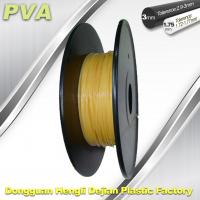 Quality Water Soluble Support Material PVA 3D Printing Filament 1.75 / 3.0 mm Natural for sale