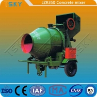 China Hydraulic Tipping Type JZR350 Diesel Engine Concrete Mixer wholesale
