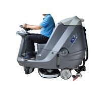 China Automatic Ride On Sweeper Scrubber , Factory Stone Floor Cleaner Machine wholesale