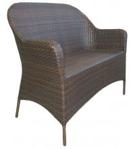 China backyard wicker leisure bench -1119 wholesale