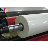 China High Gloss Laminate Plastic Roll Thickness 15micron to 30micron Shine BOPP Thermal Lamination Film wholesale