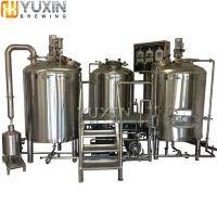 Buy cheap Brewery Plant 1000L 2000L 3000L 5000L Commercial Beer Brewery Equipment for Sale from wholesalers