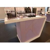 China Supermarket Fashion Makeup Display Cabinet Cosmetic Retail Counters Design wholesale