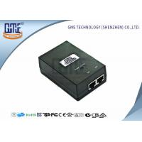 China AC DC Power Over Ethernet Poe Adapter 48V 0.5A 50000 Hours MTBF wholesale