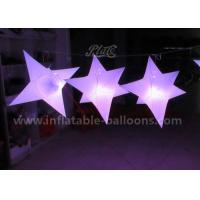 Buy cheap 1M PVC Airtight Inflatable Hanging Stars Balloons / Helium Lighting Balloon product