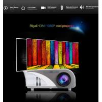 Quality 1200 Lumens 800x480 HDMI/AV/VGA/USB Input LED Video Projector HD Home Theater Projector for sale