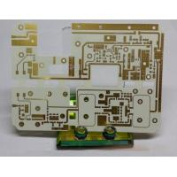 China High Frequency PCB circuits board Rogers RO4003C with Immersion gold and Quick turn pcb(PCBA) prototype Service wholesale