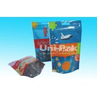 China Stand Up CPP / OPP Plastic Bags / Heat Seal Plastic Bags With Zipper on sale