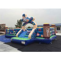 China Giant Commercial Inflatable Fun Park / Inflatable Bouncer Castle For Children wholesale