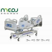 China Five Functions Electric Hospital Bed With Side Rails , MJSD04-05 Adjustable Hospital Beds wholesale