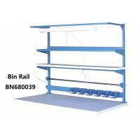 """Buy cheap Blue Industrial Work Benches Storage Bin Rails For Increasing Efficiency 48"""" from wholesalers"""
