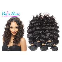 China Peruvian French Curl Grade 6A Virgin Hair 28 Inch Hair Extensions wholesale