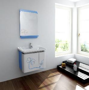 China Wood Bathroom Vanities / Wooden Bathroom Cabinets MJ-197C wholesale