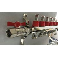 China White Control Floor Heating Manifold With Stainless Steel 304 Or 201 wholesale