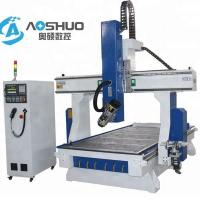 China 4 Axis Woodworking CNC Router Machine 1325 , Industrial Routers Woodworking 18KW wholesale