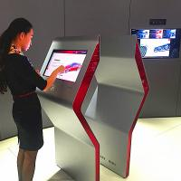 Quality 42 Inch Touch Screen Kiosk , Touch Screen Interactive Display Android System Inside for sale