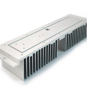 China Led Bulb Extruded Aluminum Heatsink Square Shape RoHS Listed wholesale
