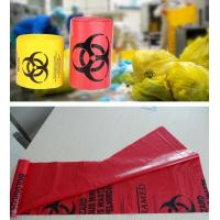 China Biodegradable Plastic Hospital biohazard waste bags, Soiled Linen Bags, autoclavable ldpe medical biohazard waste plasti wholesale