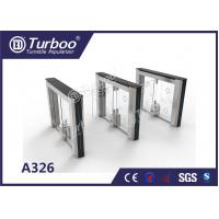 China Stainless Steel Office Security Gates Stable Running With Little Noise wholesale