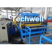 China 18 Forming Stations Automatic Double Layer Forming Machine For Roof Wall Panels With PLC Control wholesale