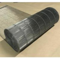 China Stainless Steel Flat Flex Wire Mesh Conveyor Belt For Drying And Cooling wholesale