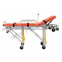 China Roll in Self Collapsible Aluminum Ambulance Stretcher Patient Transfer Stretcher wholesale