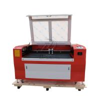 Quality Low Cost  Co2 Laser Engraving Cutting Machine for Stainless Steel /Acrylic/ Leather/ Wood with Double Heads for sale