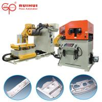 Buy cheap Automatic Coil Pneumatic Punch Press Feeder Straightener & Decoiler from wholesalers