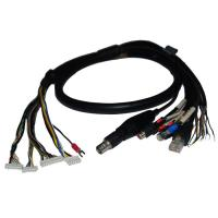 Quality Security Cable Group Bus RJ45 Plug plus BNC Female (50Ω or 75Ω) plus 2* RCA for sale