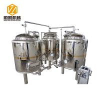 China SLET Small Brewing Systems 1000L Three Vessels Brewhouse ISO Approved wholesale