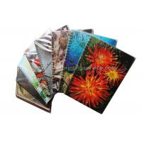 Quality Sexy Girl Design Notebook 3D Lenticular Printing Service Journals PET / PP / PVC for sale
