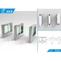 China Office Building Swing Barrier Gate Service Life 5000000 Cycles Fault Detection on sale