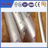 China CNC/drilling/bended aluminium pipes tubes specially for rack/tent,aluminium tent pipes wholesale