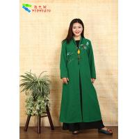 China Traditional Chinese Clothing Female Floral Embroidered Coat For Daily Wear wholesale