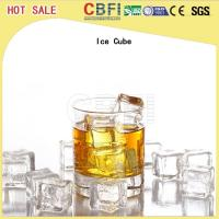 China CBFI 20 Tons Large Ice Cube Machine Commercial With Semi Automatic Packing System wholesale