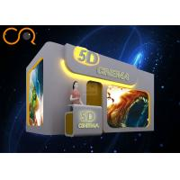 Buy cheap High Power 7d Cinema Simulator , 7d Movie Experience For Shopping Mall from wholesalers