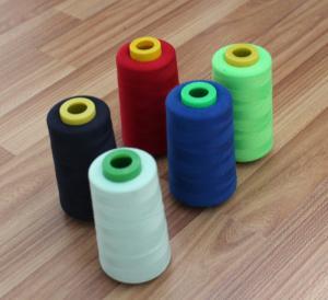 China Fashion sewing thread polyester fiber yarn wholesale