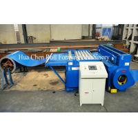 China Roof Panel Metal Plate Steel Sheet Cutting Machine 1000mm - 1250mm , 3 Row Rollers wholesale