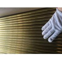 China ASTM B111 C44300 , C68700 Brass Tube For Condenser And Cooling Applicaton wholesale