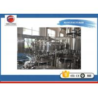 Stainless Steel Carbonated Drinks Filling Machine 5KW 2000 - 3000BPH High Filling Precision