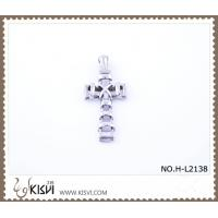 China hotsale 316 stainless steel pendant with cross shape  H-L2138 wholesale
