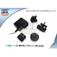 China Glucose Meter Interchangeable Plug Power Adapter 6v 250mA Max Input Current wholesale