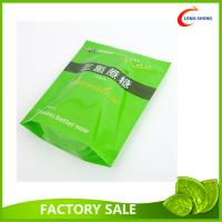 China Resealable Zip Top Plastic Stand Up Bag , Spring Tea Packaging Plastic Bag wholesale
