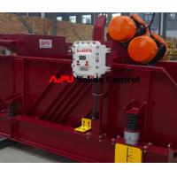 China Oil and gas drilling fluid process shale shaker at Aipu solids control wholesale